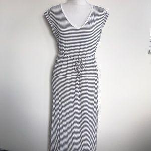 Black & White Striped Mayberry H&M Dress